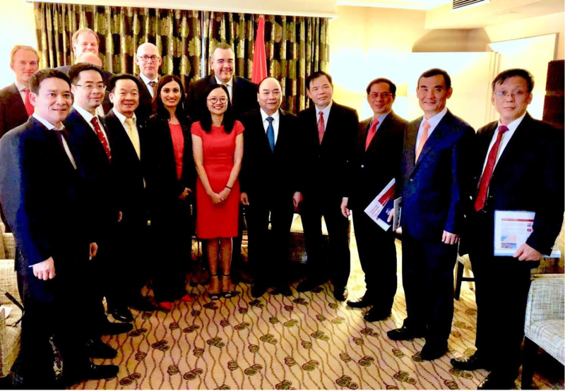 AB Consult joins meeting with Prime Minister Phuc and his cabinet -2018